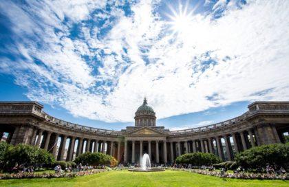 Санкт-Петербург, туризм.